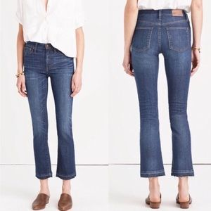 Madewell Cali Demi Boot Drop Hem Edition Jeans, 26